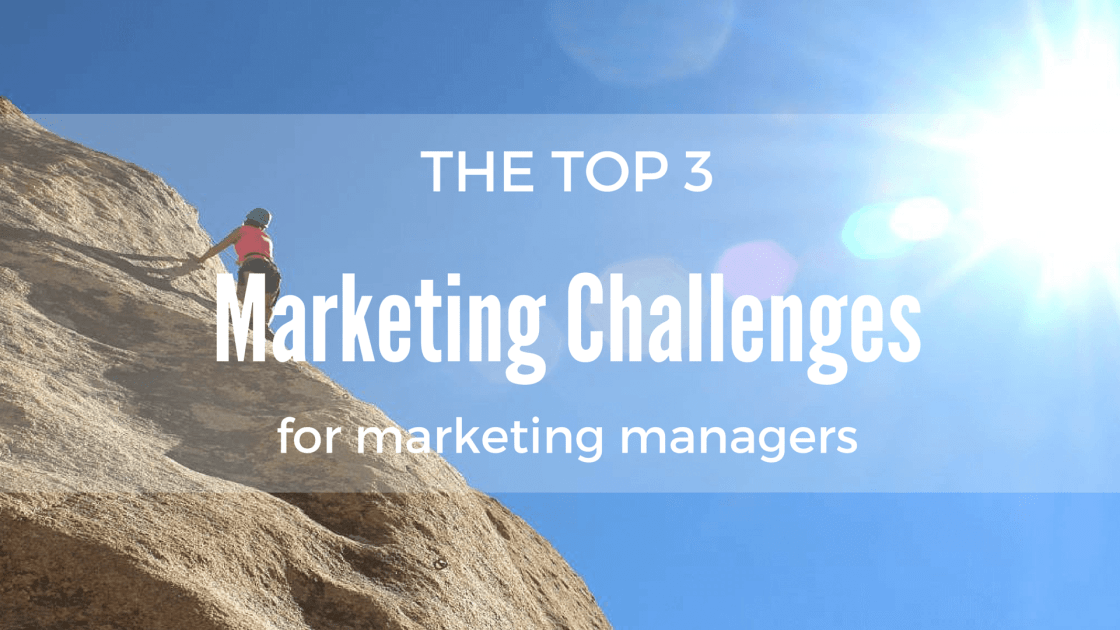 challenges for marketing managers