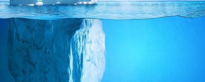 The 'Cognitive Iceberg' Model of Sensory Awareness
