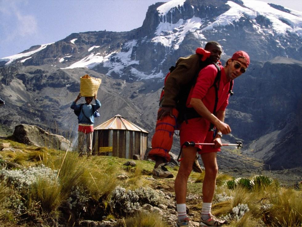 robert mads anderson, 7 summits solo, kilimanjaro