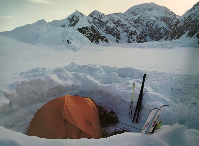 denali, camp, robert mads anderson, 7 summits solo