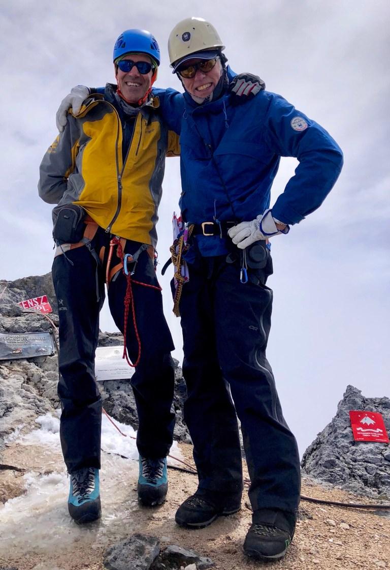 Carstenz, Peter Hillary, Robert Anderson, 7 Summits