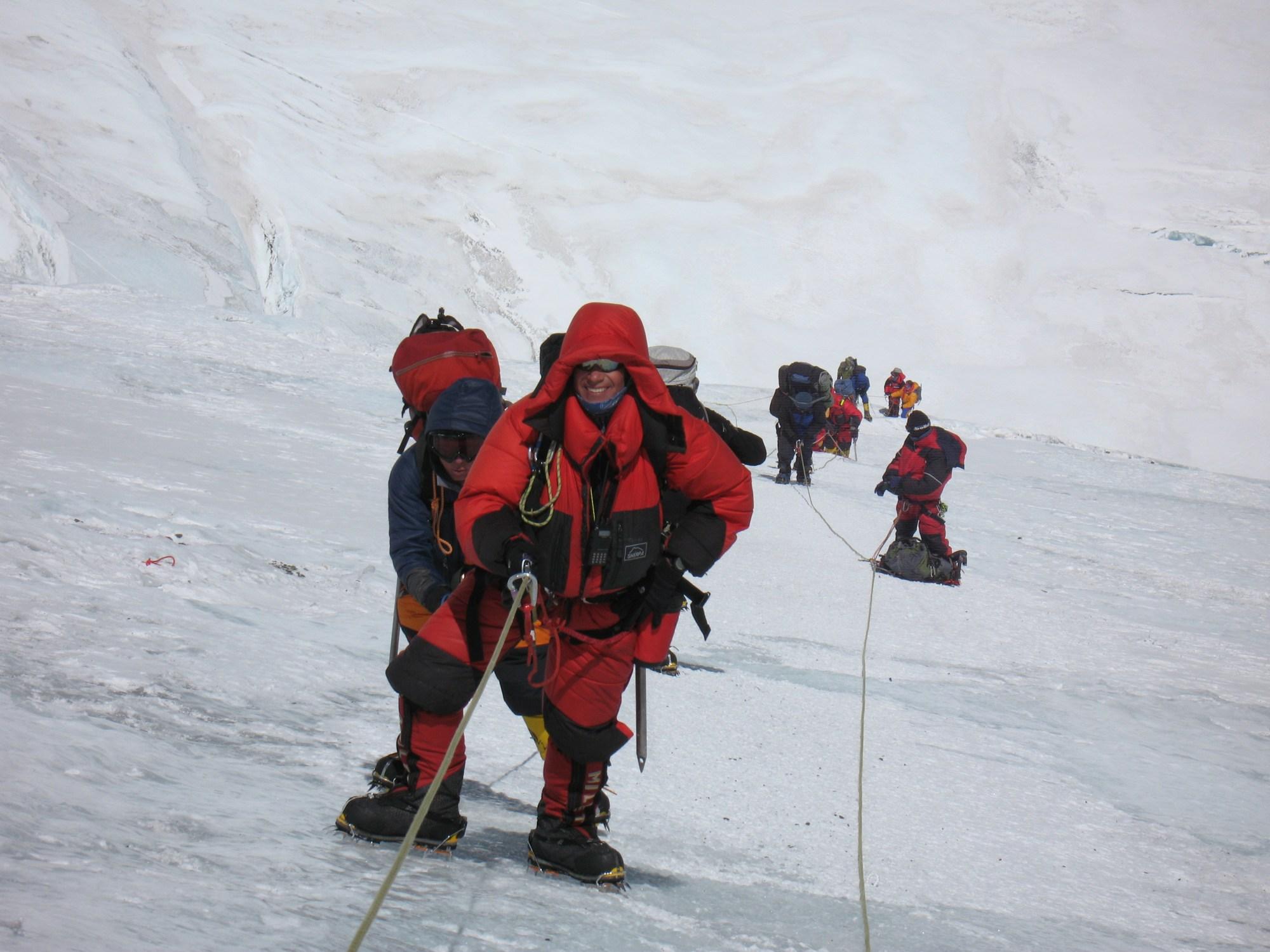 Everest, Lhotse Face, Vern Tejas