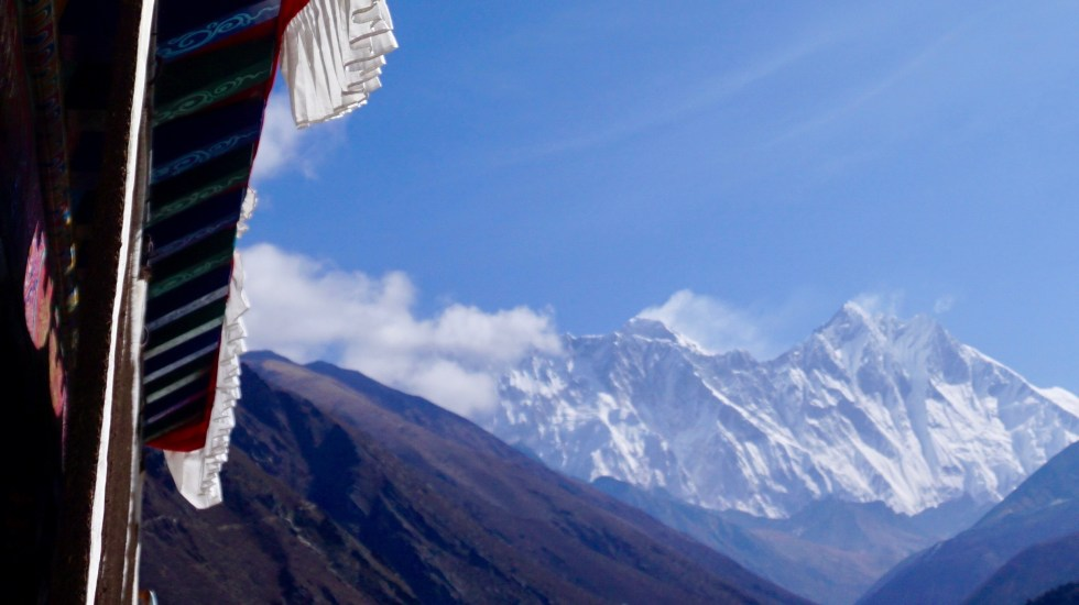 Everest, Lhotse, robert mads anderson, Tangboche Monastery