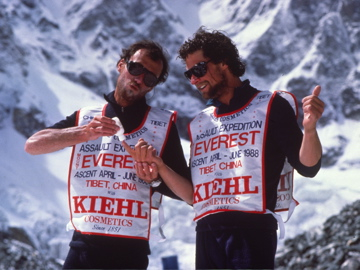 Everest Kangshung Face, Stephen Venables, Paul Teare