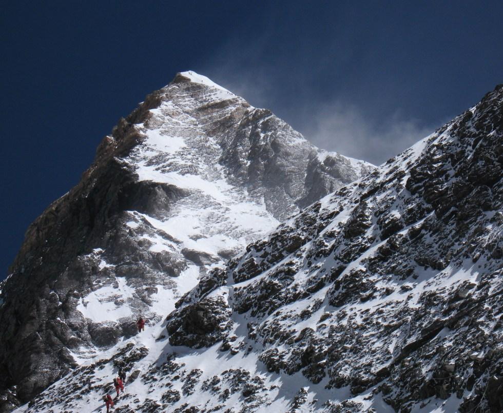 Everest, South Summit, Geneva Spur South Col
