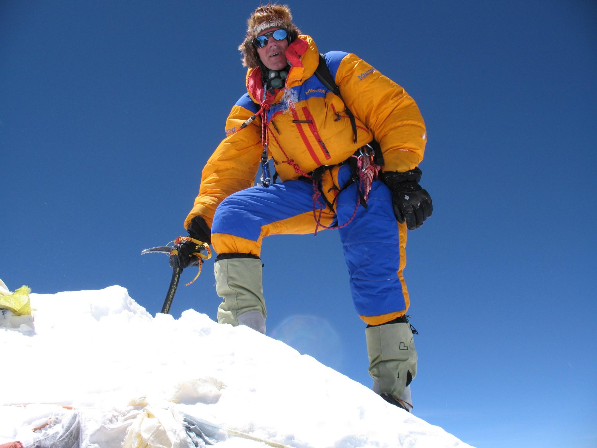 Makalu, Summit, robert mads anderson