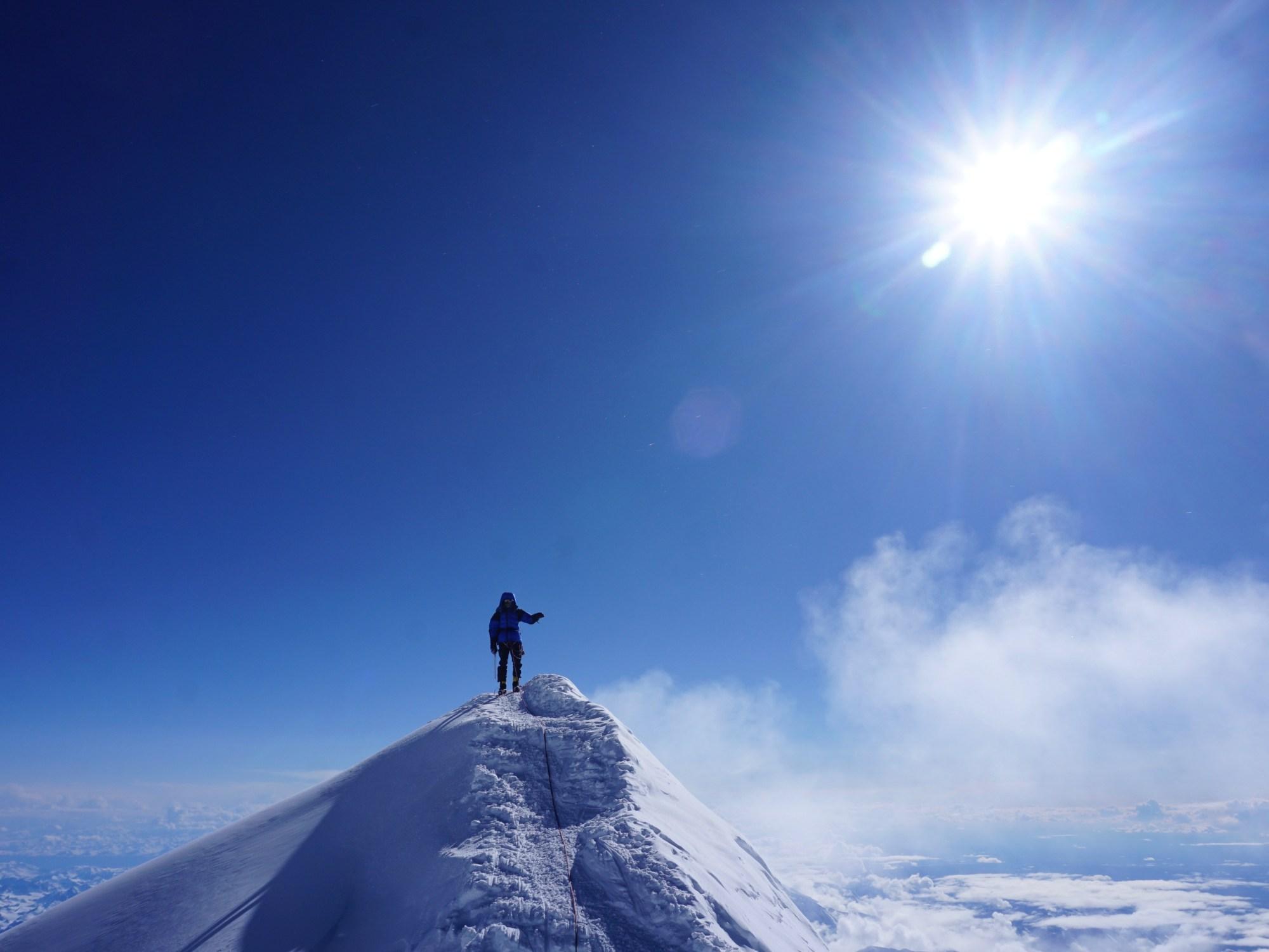 Denali, summit