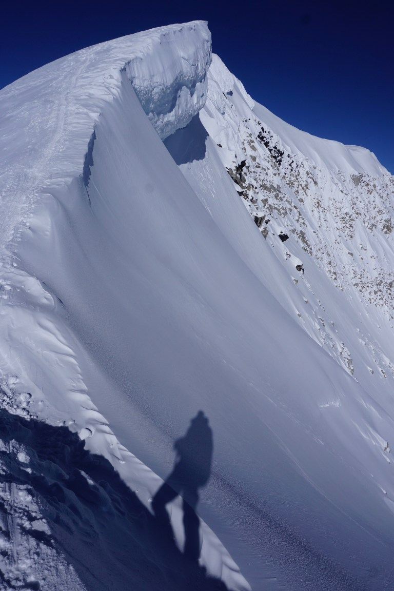 Denali, summit ridge, West buttress