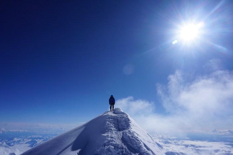 Denali, summit ridge