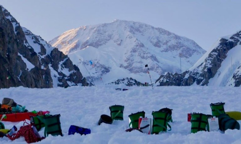 Denali, CMC, clean mountain cans, poo cans, west buttress
