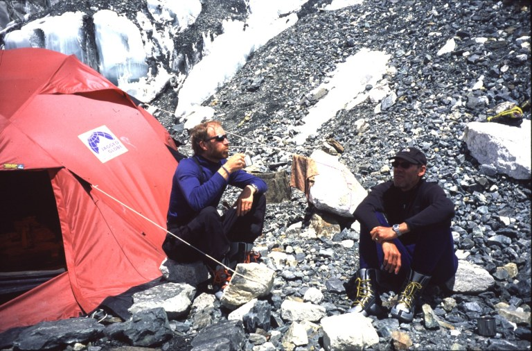 Borge Ousland, Robert Mads Anderson, Everest Base Camp