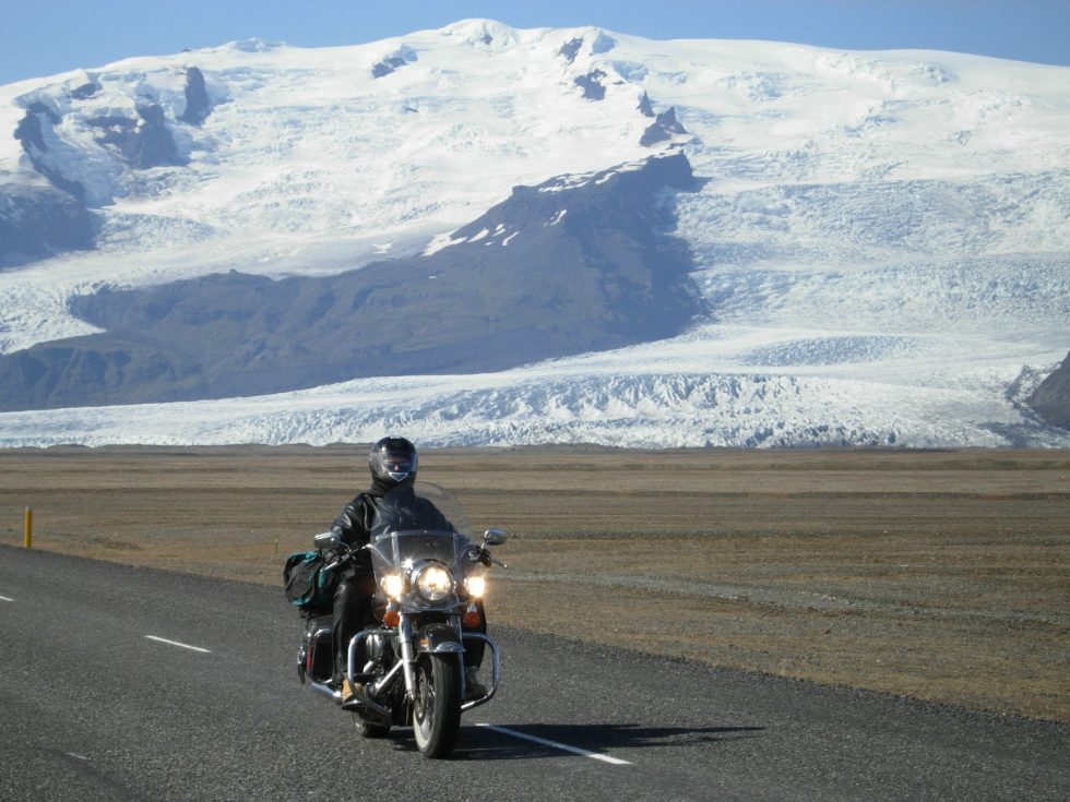 Harleys on Ice, Iceland, Harley Davidson, Explore7Summits