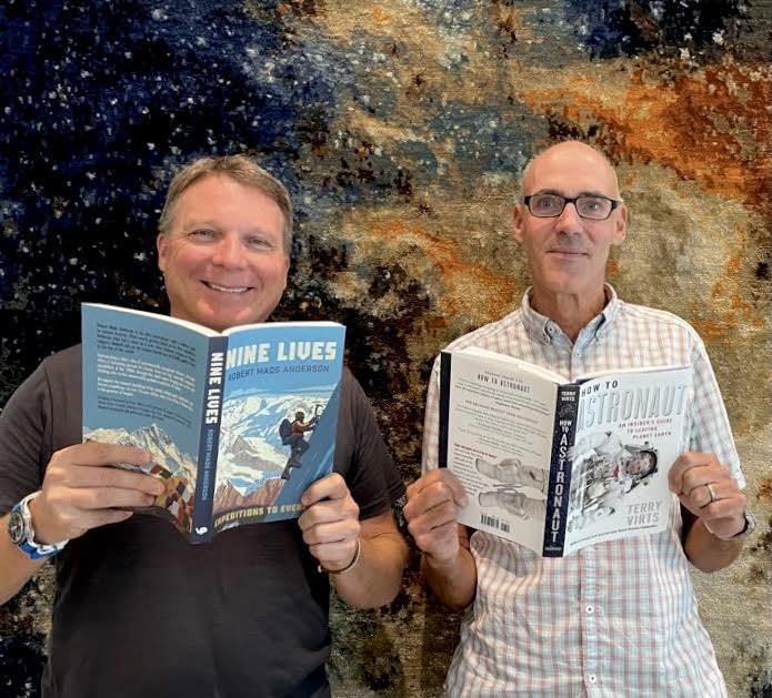 Terry Virts, Robert Mads Anderson, How to Astronaut, Nine Lives - Expeditions to Everest