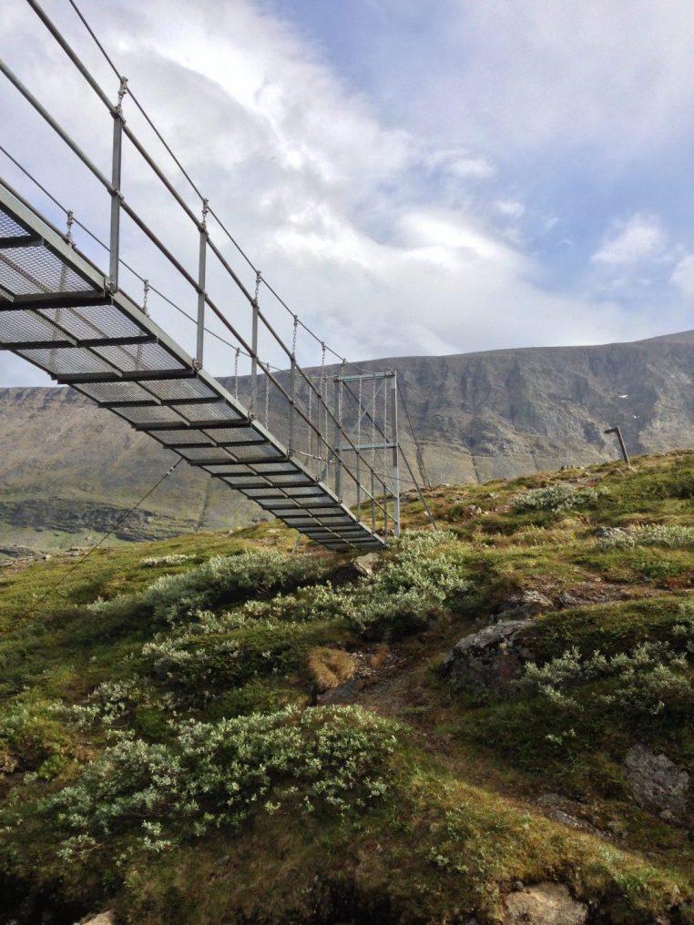 bridge swedish lapland