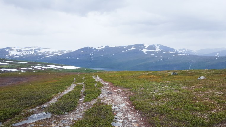 view towards kaitumjaure - kungsleden -Photo © Amanda Matti