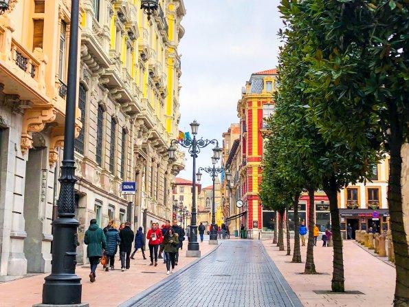 Oviedo's Historic Center