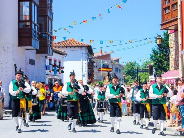 Fiesta in Nueva de Llanes