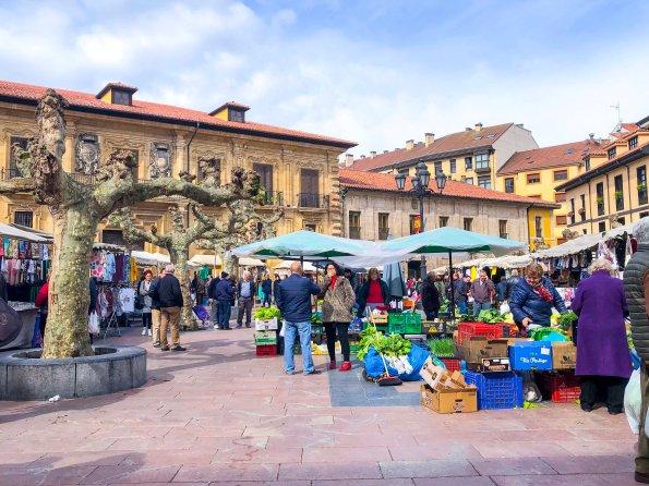 Mercadillo del Fontan, Oviedo