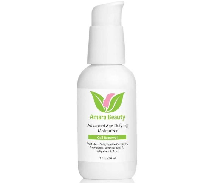 Amara Organics Advanced Age-Defying Moisturizer - Anti-Aging Products On Amazon In 2019