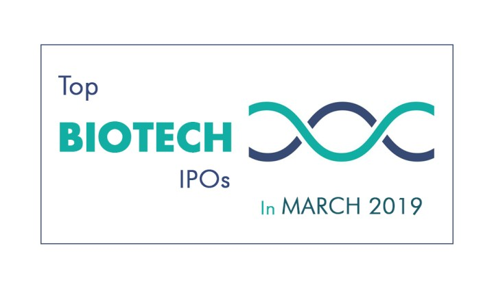 Monthly Biotech IPOs - March 2019