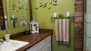 Hillside washroom