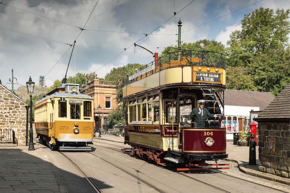 Vintage Day at Crich Tramway Village