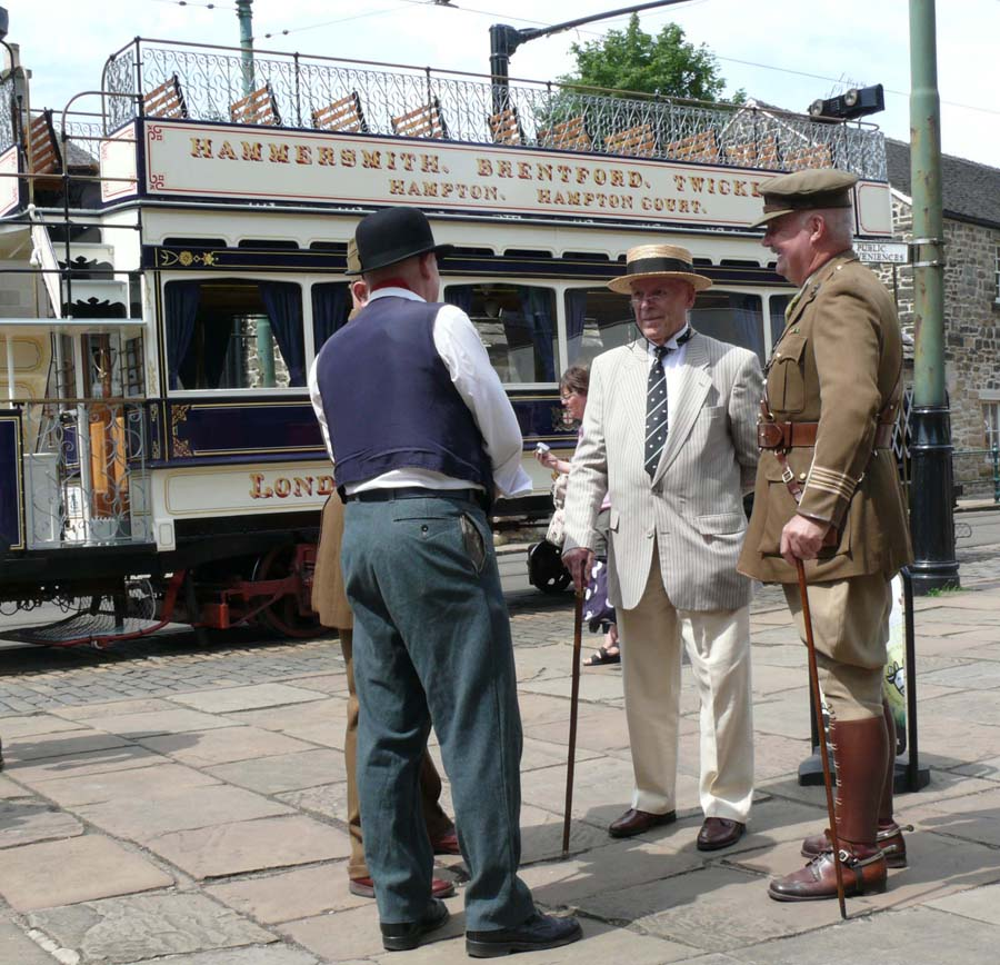 Edwardian Event Crich Tramway Village 2018