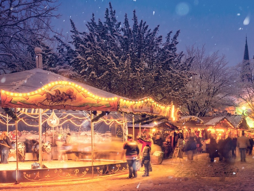 Christmas Markets in Derbyshire and Peak District