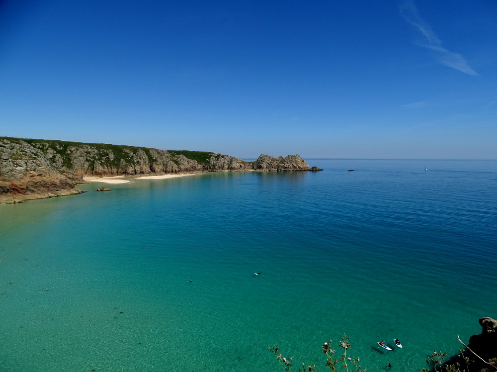 A Walk Around Treen – from Porthcurno to Porth Chapel