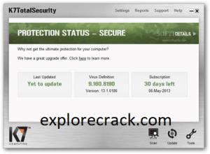 K7 Total Security 16.0.0568 Crack + Activation Key [2022-Latest]