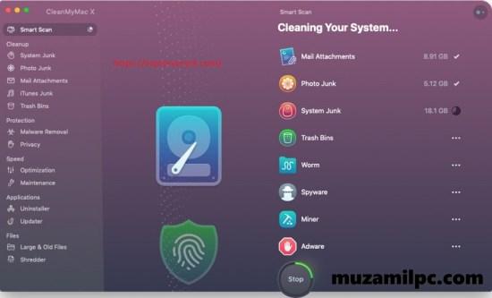 CleanMyMac X 4.8.6 Crack Activation Key + Keygen Free Download