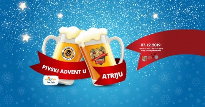 Pivski Advent u Atriju – osim sjajnih piva, čekaju vas i ukusni zalogaji