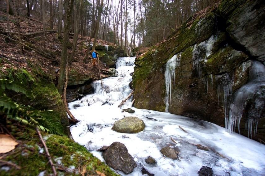 Bailey's Ravine Falls Winter Small