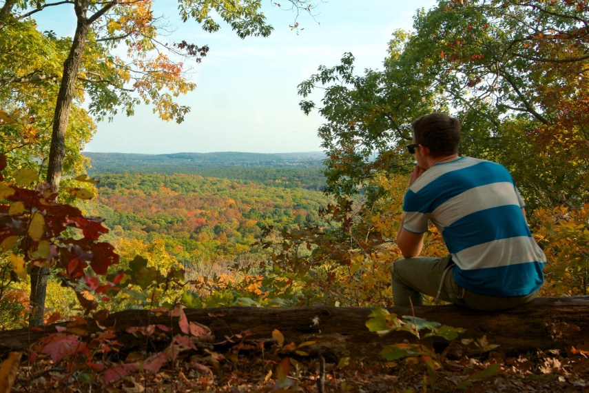 Conery Rock Overlook Fall