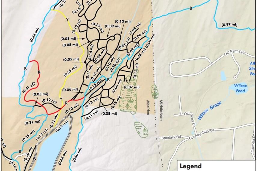 Giuffrida Park Trail Map