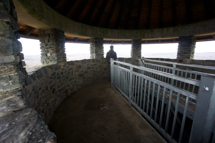 Haystack Mountain Inside the Tower