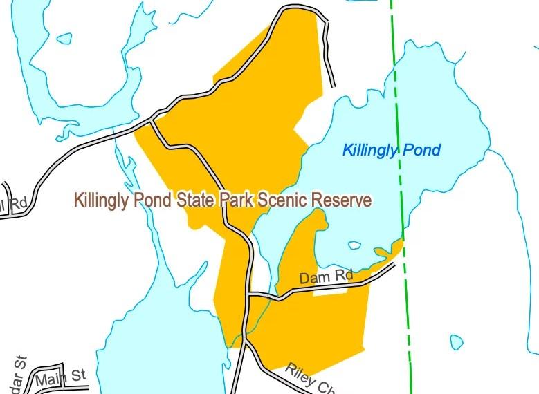 Killing Pond Map