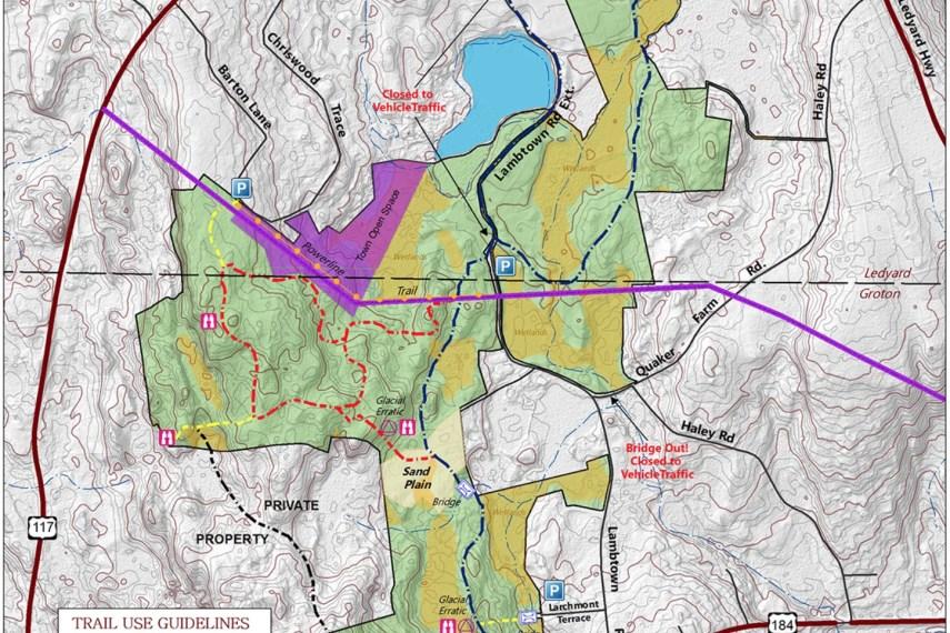 Avery Farm Preserve Trail Map
