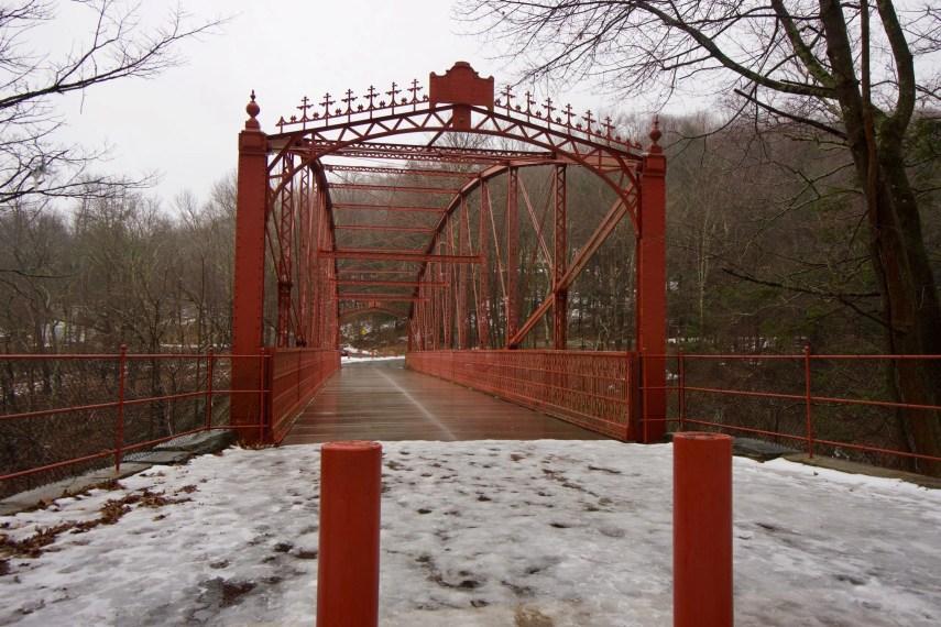Lovers Leap Iron Bridge