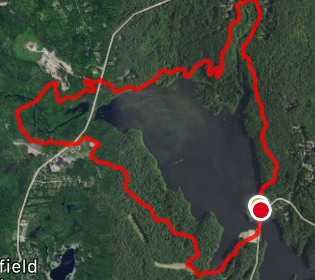 Mansfield Hollow Yellow Trail