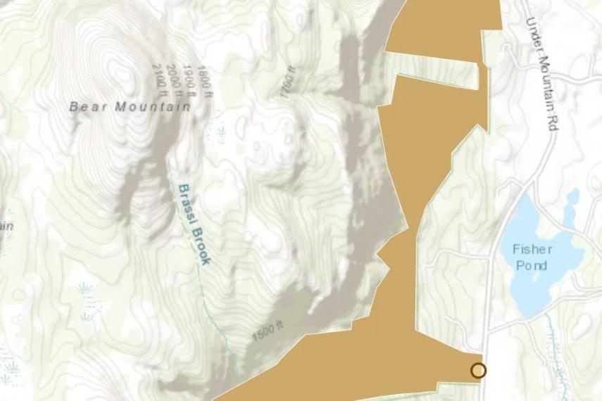 Mount Riga Map