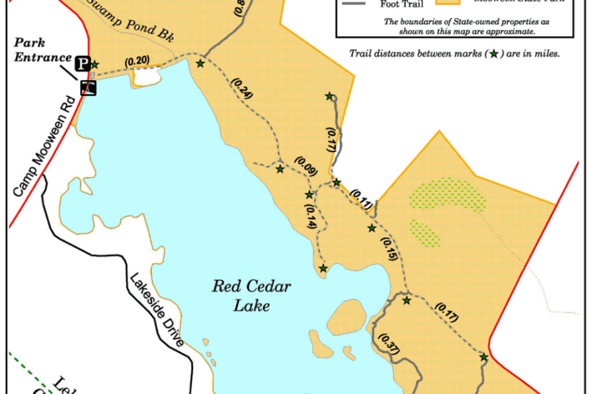 Moween State Park Trail Map