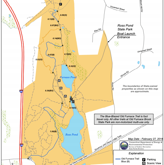 Old Furnace State Park Trail Map