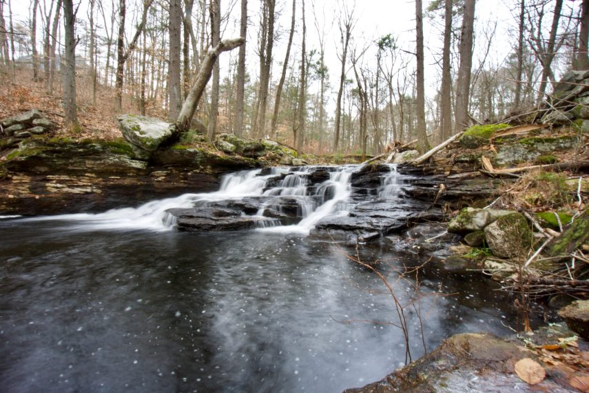 Sheepskin Hollow Preserve Falls