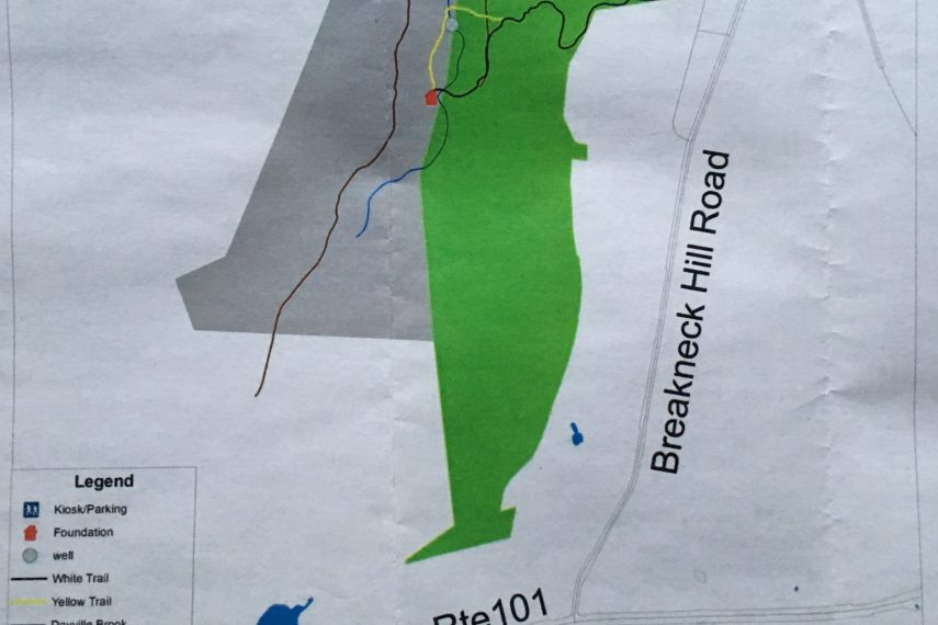 Sherman Forest Trail Map