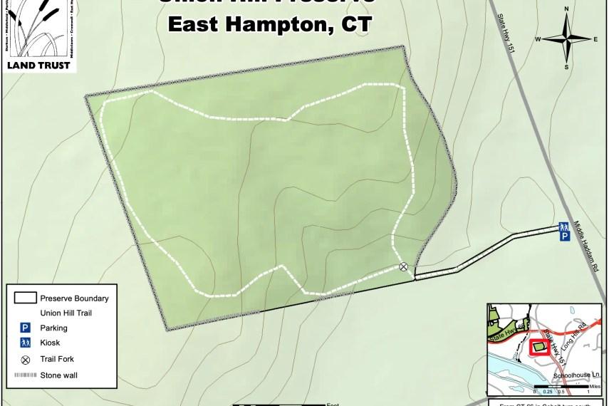 Union Hill Preserve Trail Map
