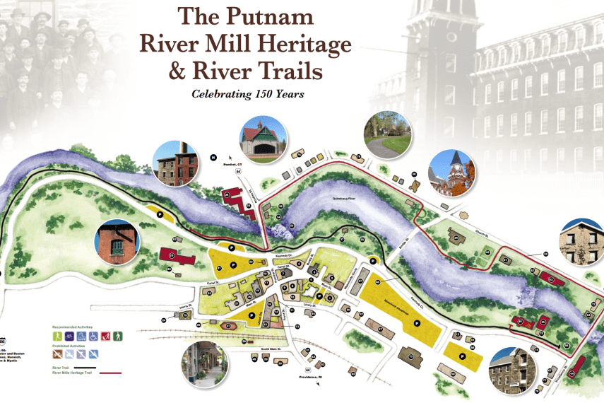 Putnam River Trail Map
