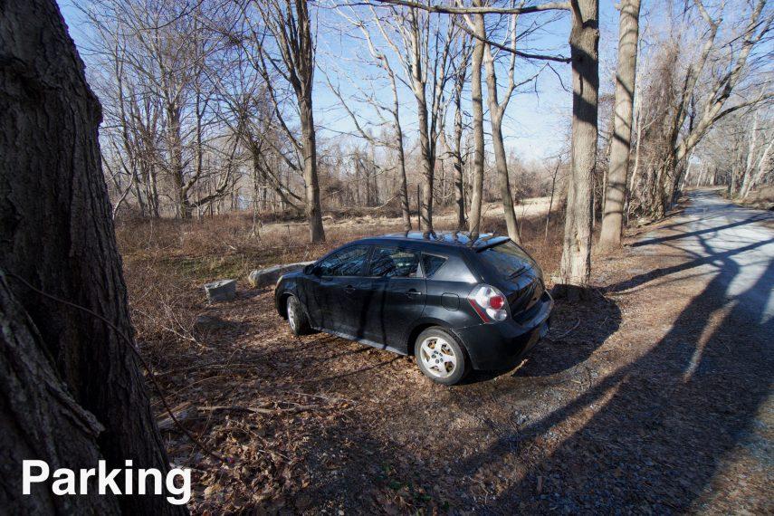 Brainard Homestead Parking