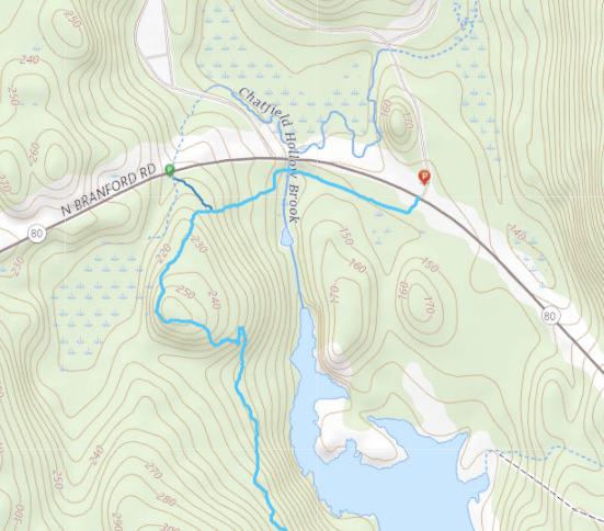Forster Pond Trail Map