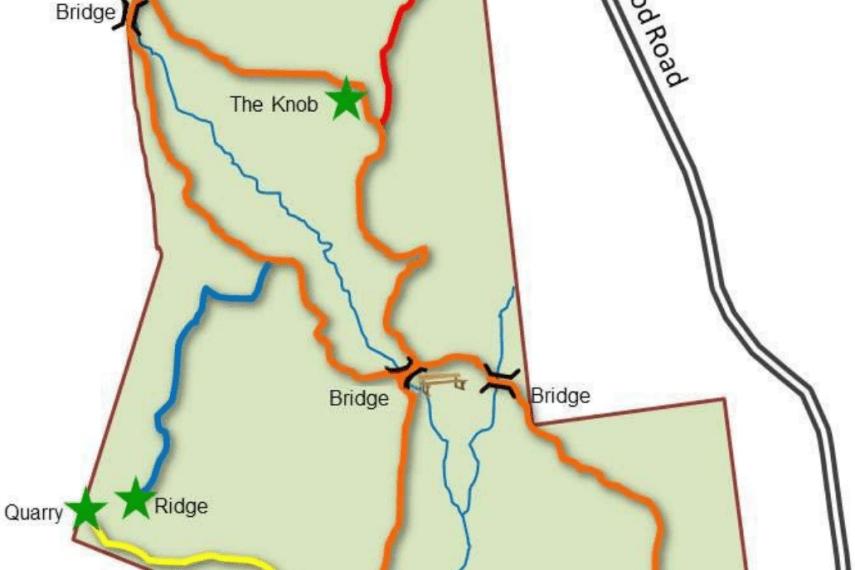 Palmer Kendall Mountain Trail Map